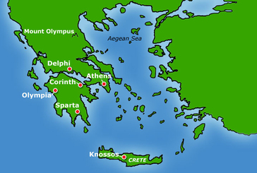 GREECE LIGHTNING Ancient Mediterranean Time Travellers Guide - Where is greece located